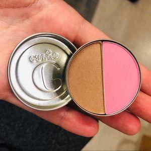 Cargo blush bronzer duo Catalina & Medium shades
